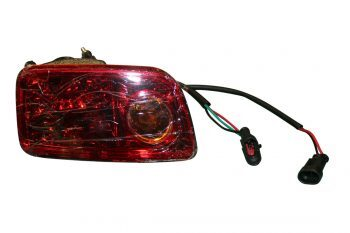 Golf Cart Passenger Side Tail Light Assembly