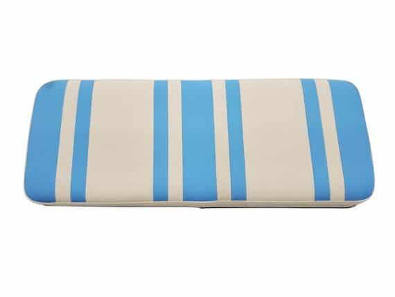 Beyond 6 seat cushion + base - sky/white