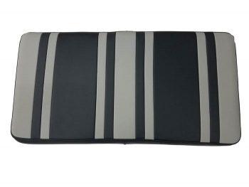 Beyond 6 seat cushion + base - titanium/blk
