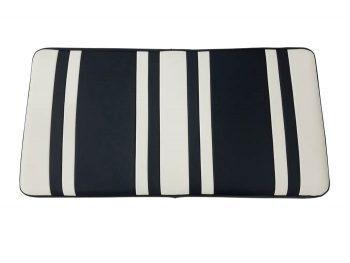 Beyond 6 seat cushion + base - white/blk