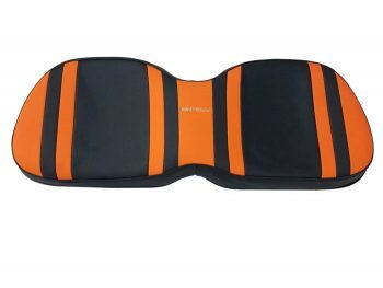 Beyond 6 backward seat cushion + base - orange/blk