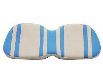 Beyond 6 backward seat cushion + base - sky/white