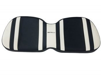 Beyond 6 backward seat cushion + base - white/blk