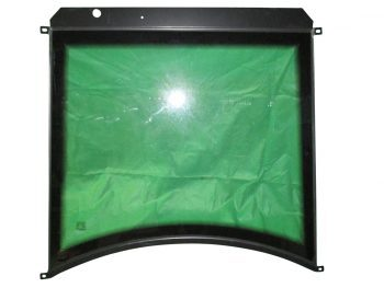 Lifted Windshield Assembly