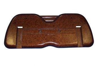Golf Cart Wood Grain Seat Back