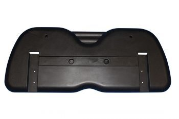 Golf Cart Seat Back - Black