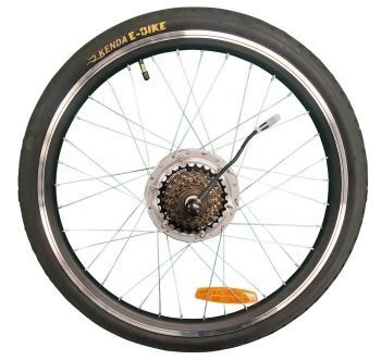 Journey Rear Wheel Assembly with Motor