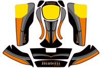 Bintelli G2 Sticker Set
