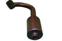 Exhaust Pipe and Muffler - ST1 Solid
