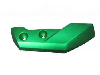 Beast Lower Right Front Fender Green